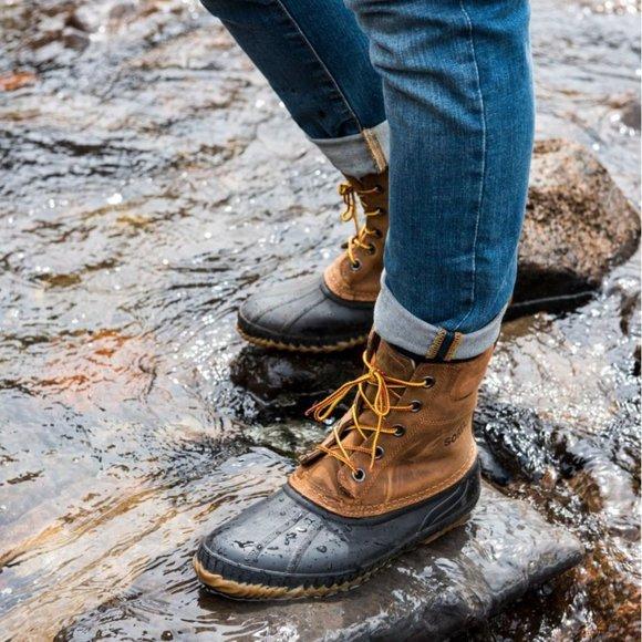 Sorel Cheyanne Ii Lace Duck Boots Women